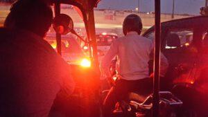 Der Verkehr in Indien ist chaotisch aber strukturiert.